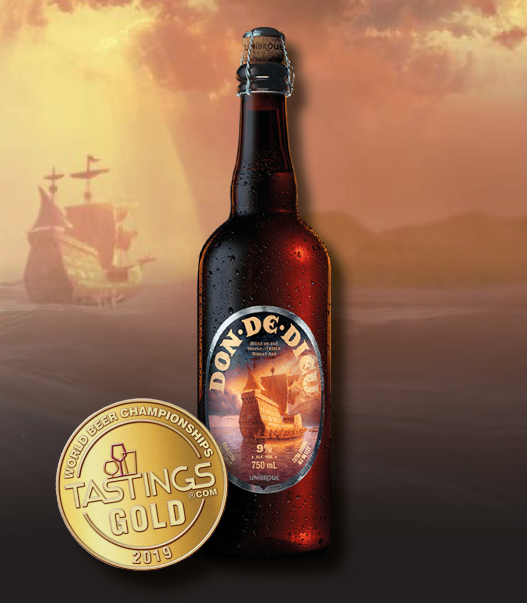 UNIBROUE RÉCOLTE 3 MÉDAILLES D'OR ET 2 D'ARGENT AU WORLD BEER CHAMPIONSHIPS DE CHICAGO